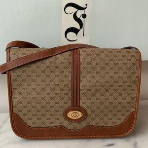 Vintage Gucci Crossbody Micro GG Bag